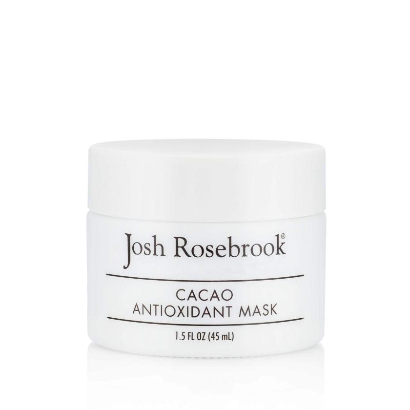 josh rosebrook cacao mask
